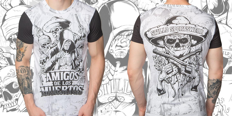 Футболка «Amigos de los Muertos»