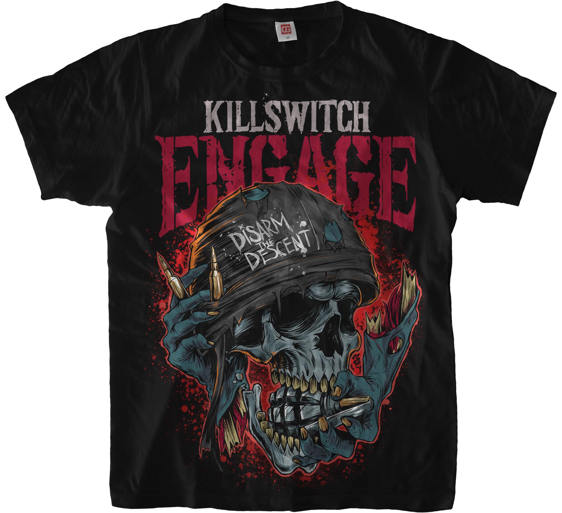 Футболка Killswitch Engage: Disarm the Descent