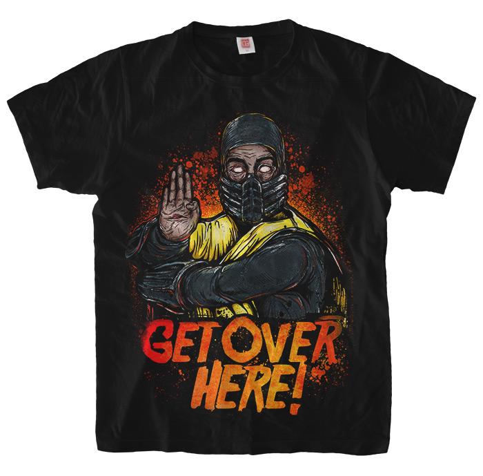 Футболка Scorpion: Get Over Here