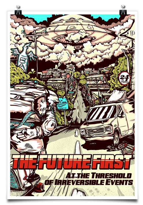 Постер The Future First: At the Threshold of Irreversible Events