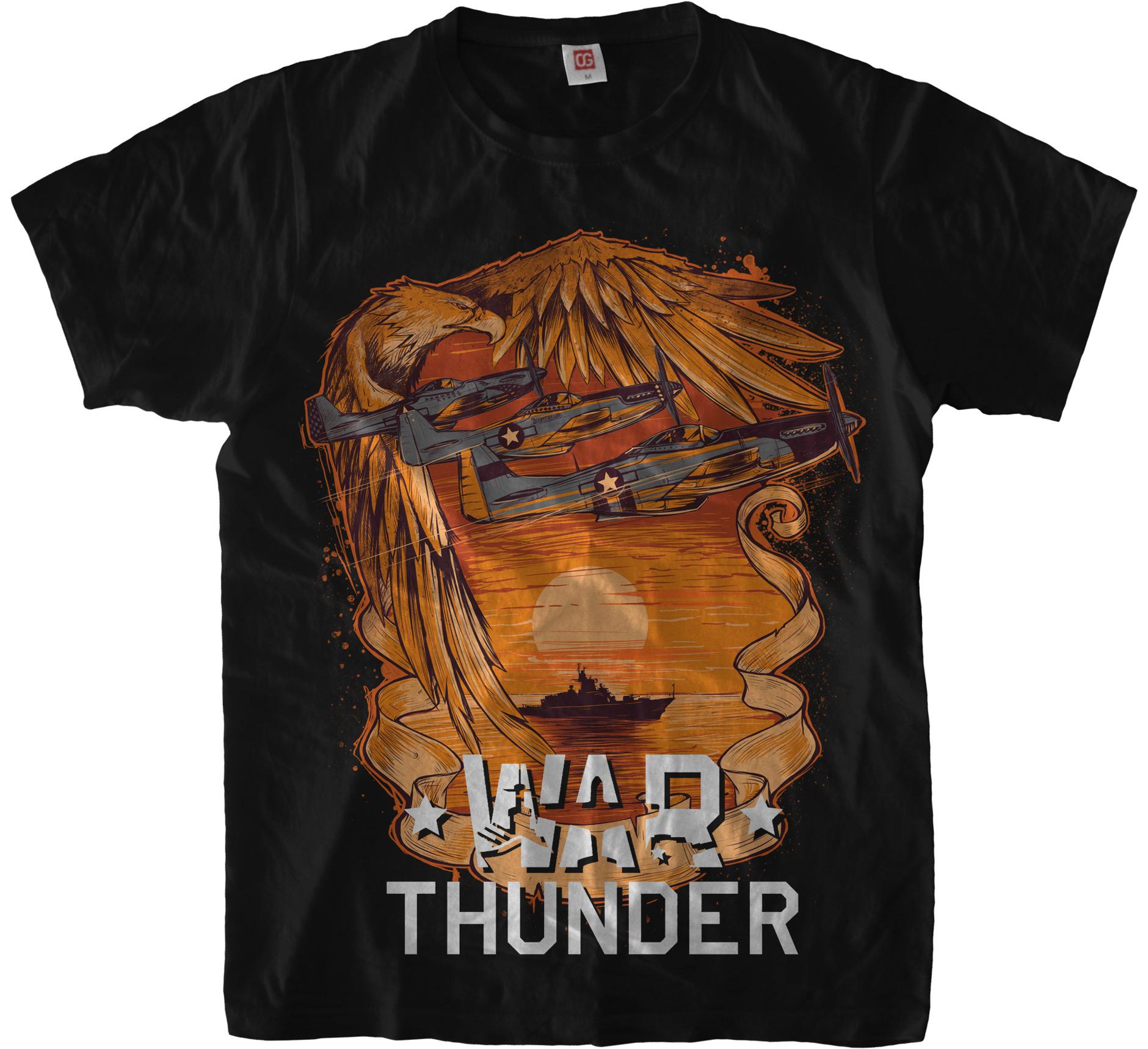 Футболка War Thunder: США